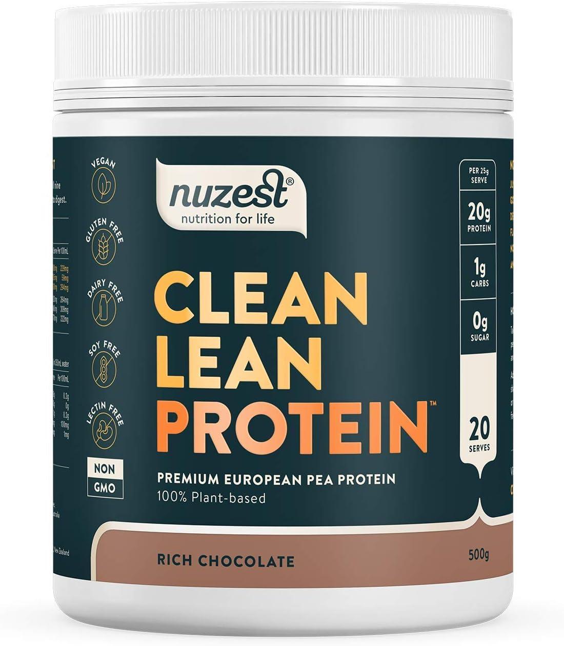 Clean Lean Protein Rich Chocolate 20 Serve - 500g