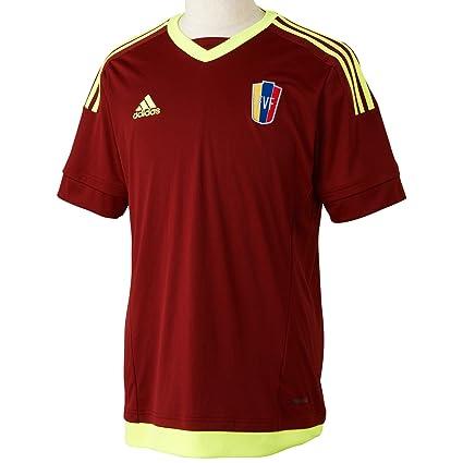 adidas 2015-2016 Venezuela Home Football Soccer T-Shirt Jersey