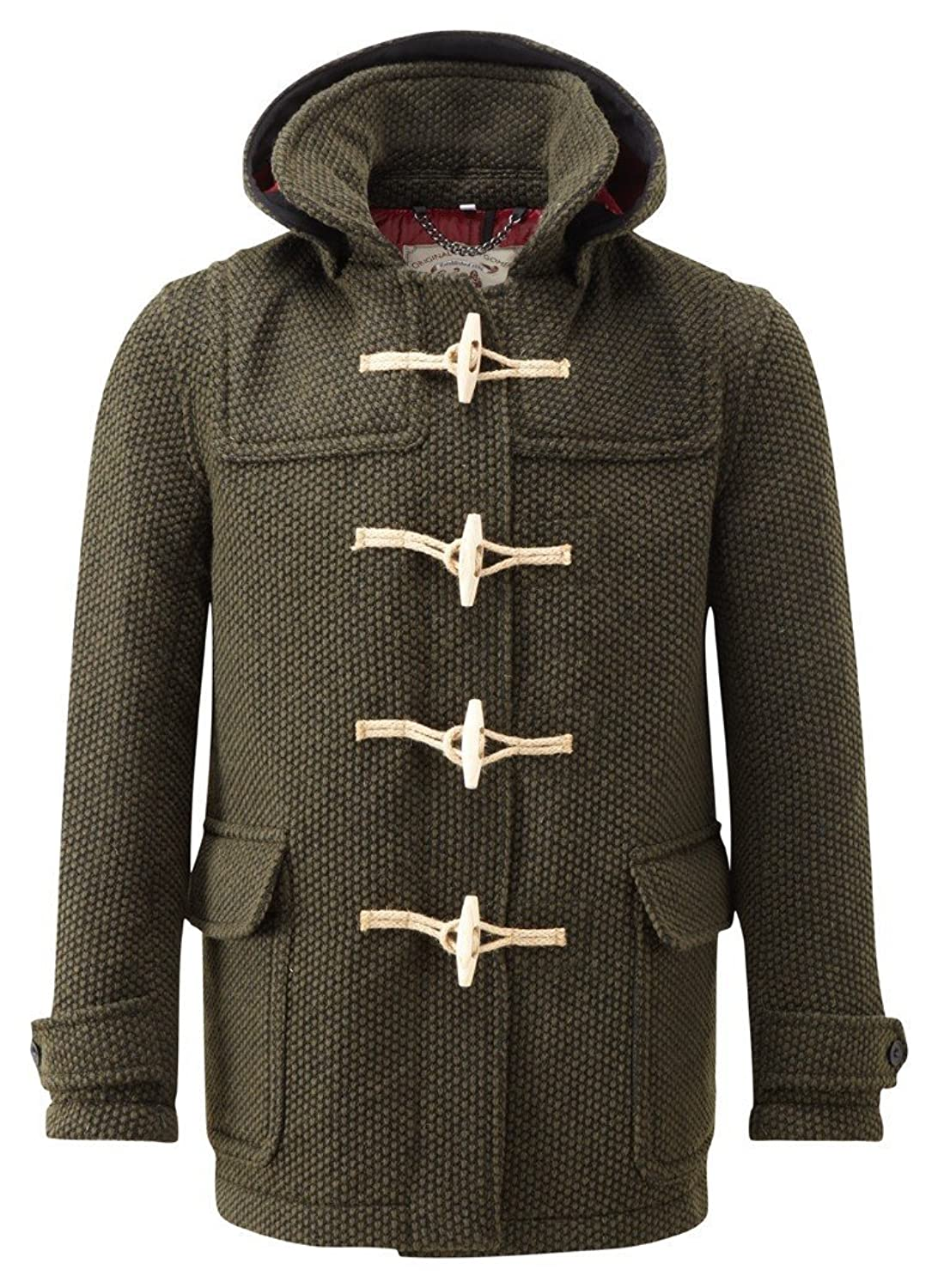Mens Mayfair Knitted Duffle Olive