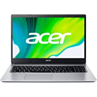 "Acer Aspire 3 - Ordenador Portátil 15.6"" FullHD (AMD Ryzen 5-3500U, 8GB RAM, 512GB SSD, UMA Graphics, Sin Sistema Operativo), Color Plata - Teclado Qwerty Español"