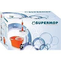 Supermop fácil de limpiar y giratorio Turbo fregona
