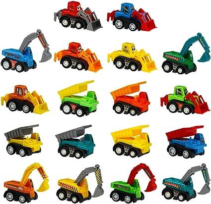 Amazon.com: Fajiabao Juguete de construcción de coches Mini ...