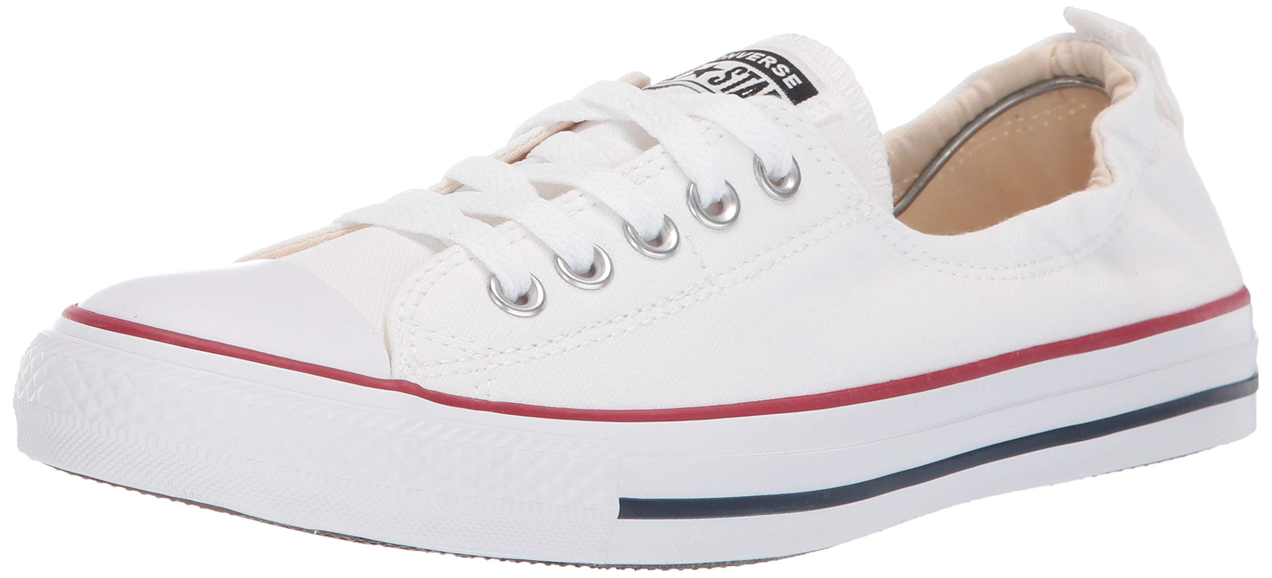 Converse Chuck Taylor All Star Shoreline White Lace-Up Sneaker - 8 B - Medium by Converse