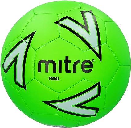 Mitre Final Balón de Fútbol de Recreación, Unisex, Verde, 4 ...
