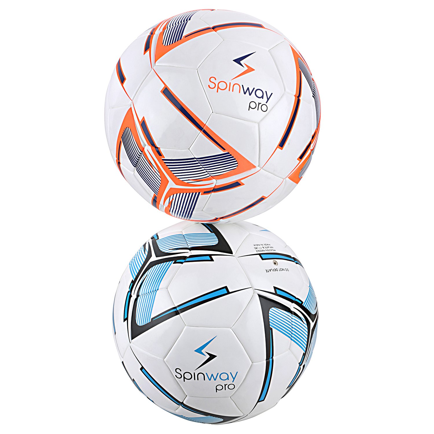 Spinway Football Pro Sw-500 for Professional Play,Water Resistant | (Blue) by Spinway (Image #4)