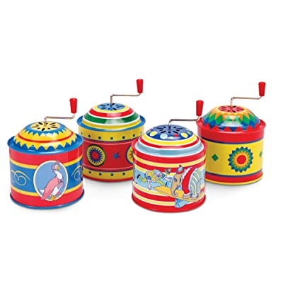 Tin Music Boxes Toy (each item sold separately): Toys & Games