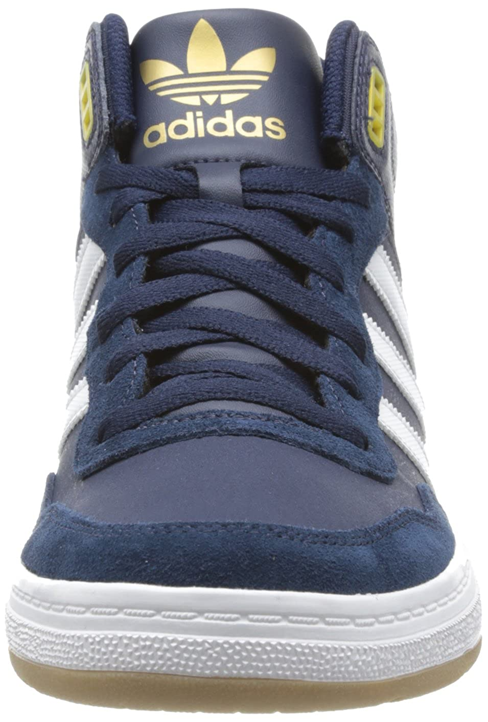 newest collection 20472 9b0db adidas Mens Artillery AS MID Skateboard Shoes Blue Blau (Collegiate  NavyMetallic GoldRunning White) Size 42 Amazon.co.uk Shoes  Bags