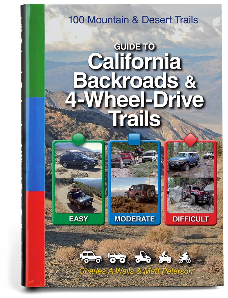 Guide to California Backroads & 4-Wheel Drive Trails by Funtreks Inc