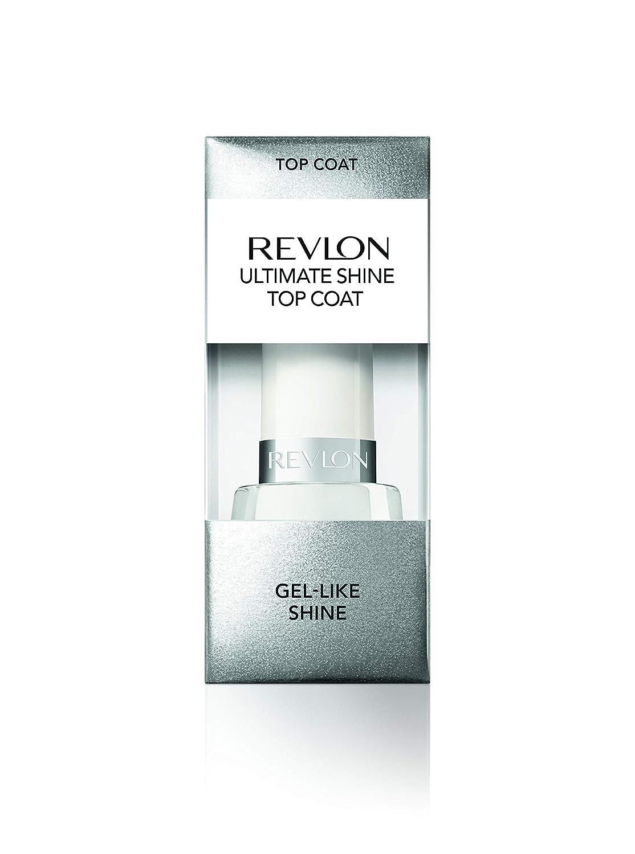 Revlon Ultimate Shine Top Coat for Glossy Gel-like Finish, 0.5 oz
