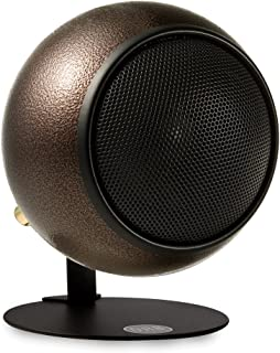 product image for Orb Audio Mod1 Stereo and TV Speaker, single pack with mod2 upgrade hardware - Hammered Earth