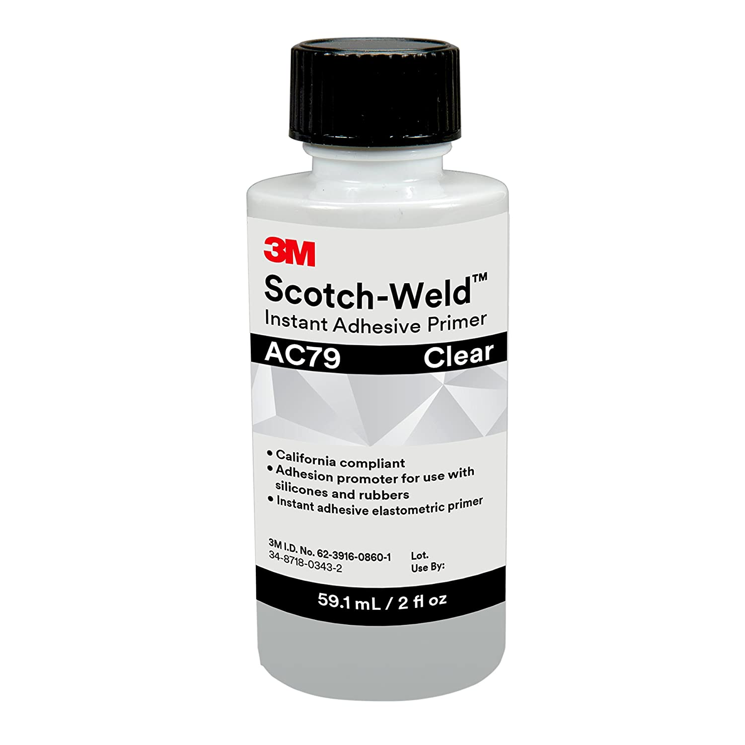 3M Scotch-Weld 31388 Instant Adhesive Primer AC79, 59.1 mL, 2 fl. oz. 3M Industrial Market Center