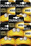 Duracell CR2032- Pila de botón de litio de 3 V, Negro