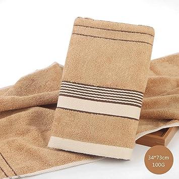 ZLR Toalla de fibra de bambú Toalla de lavado Toalla de adulto de color sólido Toalla absorbente absorbente (Toallas * 2) (Color : B*2) : Amazon.es: Hogar