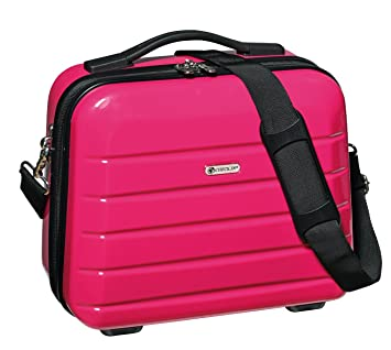 Umhängegurt Pink Mit Kosmetikkoffer 30x33x16cm Und Trolley xBoCerdW