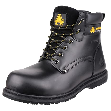 Amblers Safety 146 Welted S3 WP Black Size 6