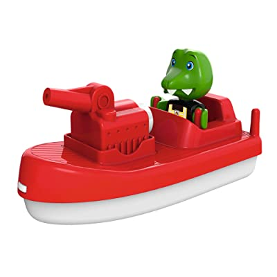 AQUAPLAY 8700000262 Fireboat Ride-On: Toys & Games