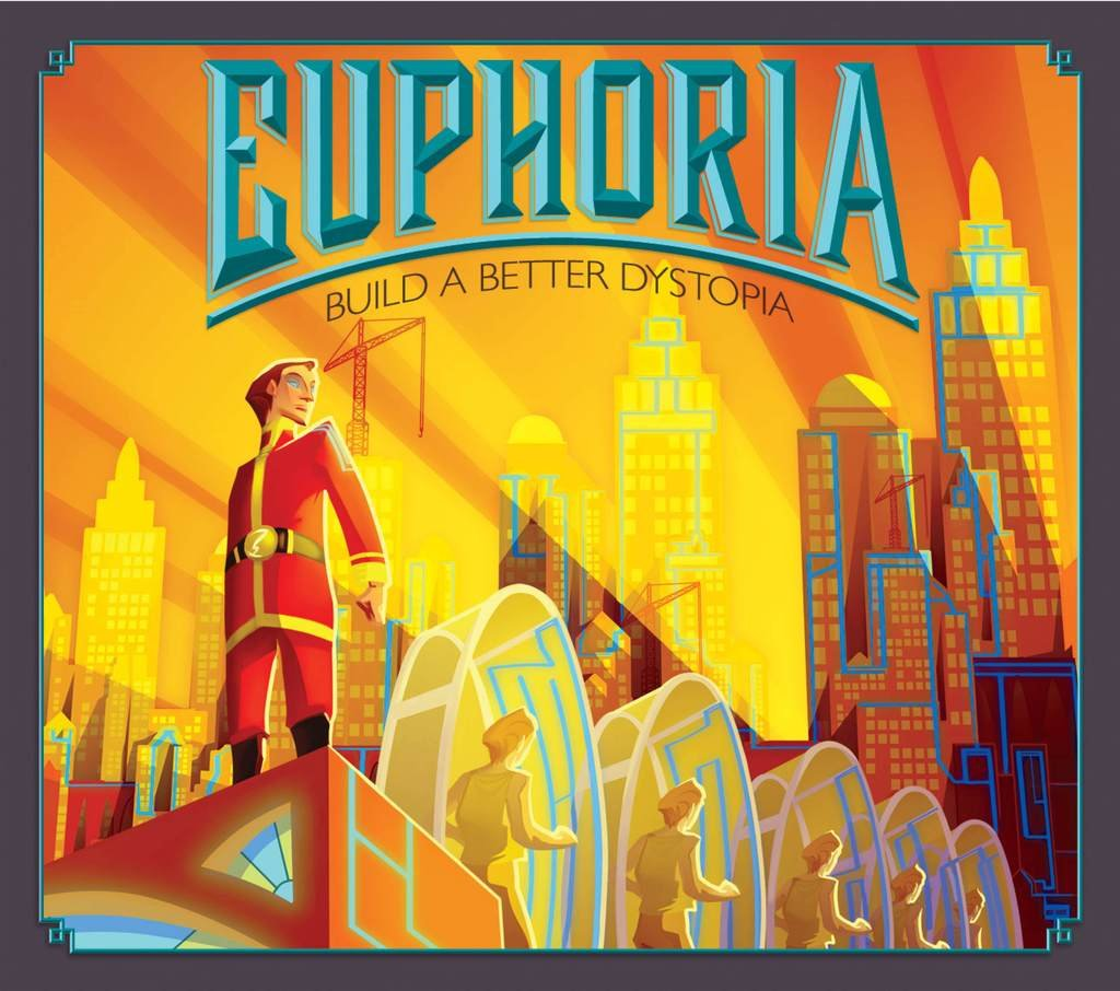 Euphoria: Build a Better Dystopia Board Game by Stonemaier Games ...