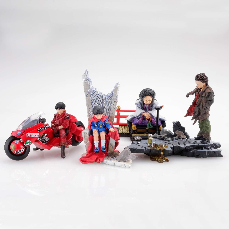 6pcs Akira Display Figurines MiniQ vol 2 Tetsuo