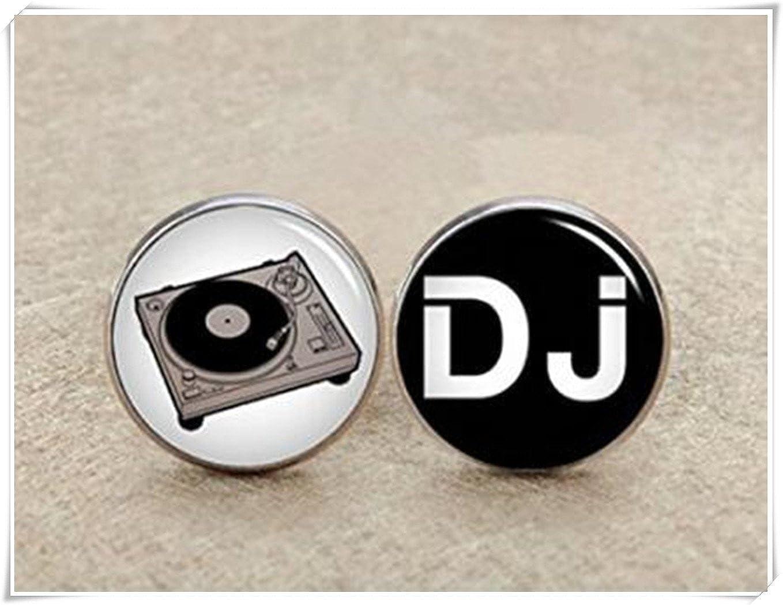 DJ Music Cufflinks,Father Of The Bride,Music lover dj lover CX28