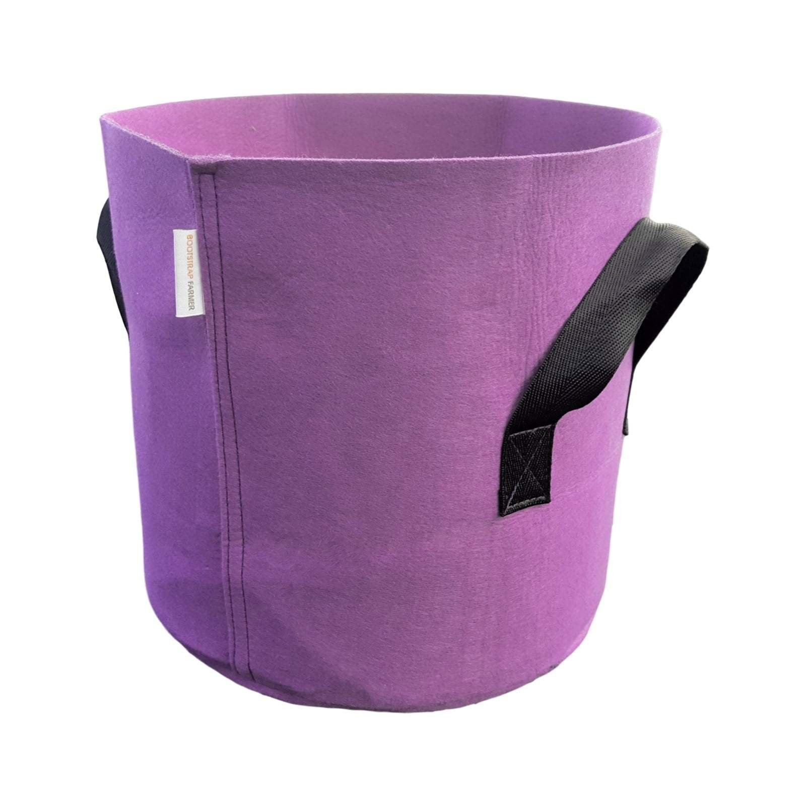 Grow Bags 7 Gallon Variety 100 Pack Colored Fabric Pot for Peppers, Potatoes, Tomatoes and Plants by Bootstrap Farmer