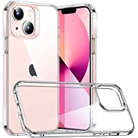 ESR Hybrid Case Compatible with iPhone 13 Mini, Scratch-Resistant Back, Grippy Protective Frames, Classic Series, Clear