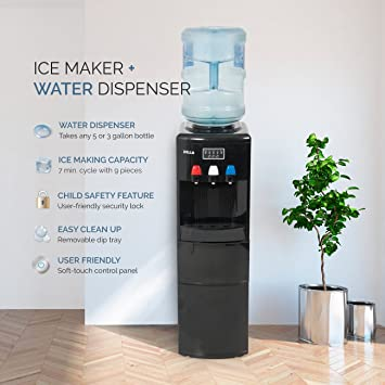 Amazoncom DELLA Water Dispenser Water Cooler Ice Maker