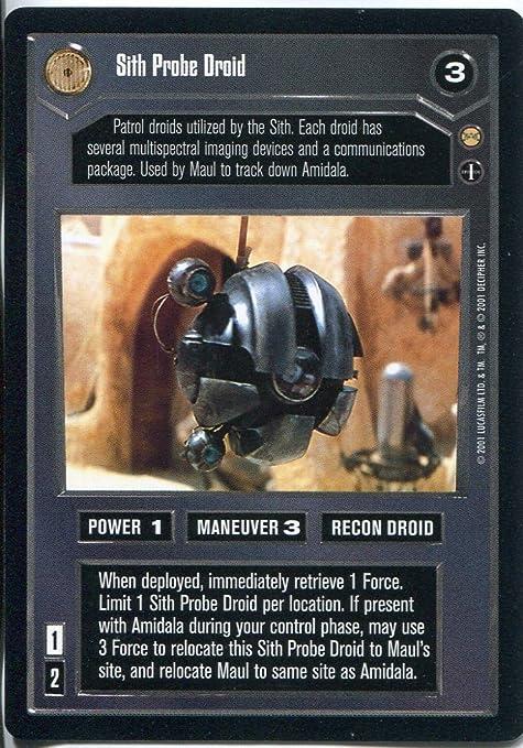 Star Wars CCG Tatooine Darth Maul