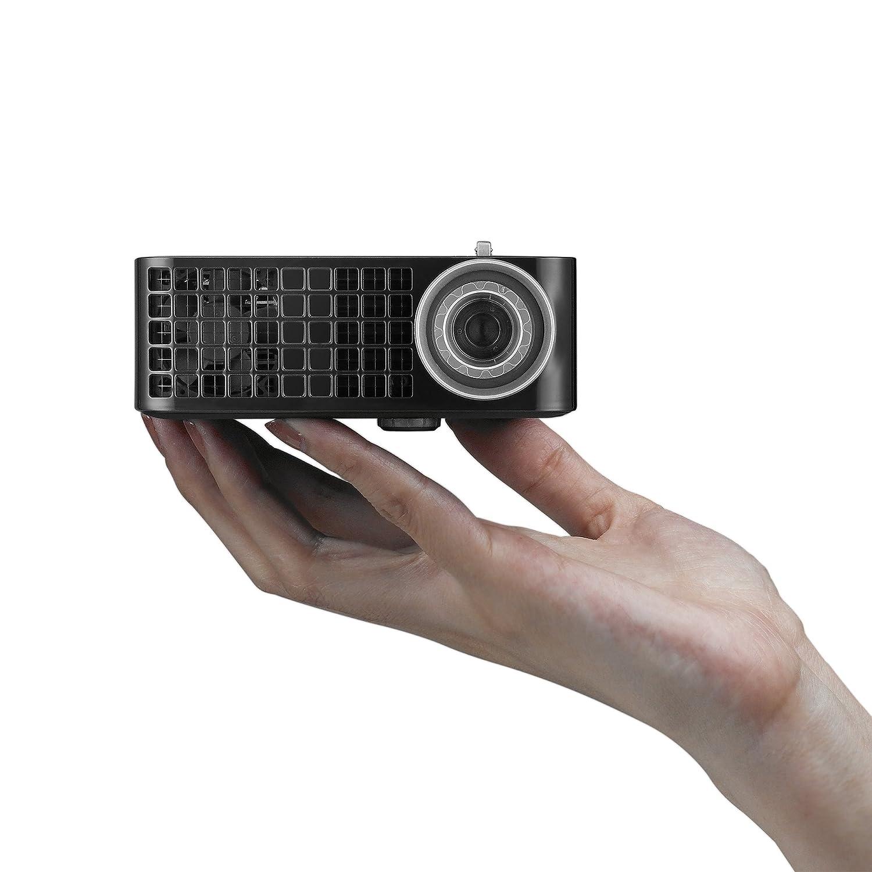 Dell M115HD Mobile LED Projector, WXGA 1280x800, HDMI USB Inputs, 1GB Internal Memory, 450 ANSI Lumens