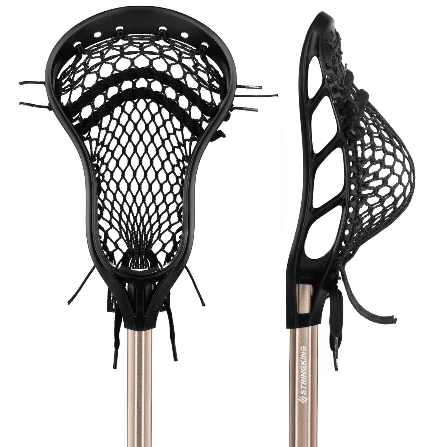 String King Complete Attack Lacrosse Stick with Head & Shaft (Assorted Colors)