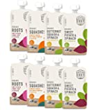 Serenity Kids Baby Food, Organic Savory Veggies Variety Pack with Organic Roots, Sweet Potato, Squashes and Butternut…