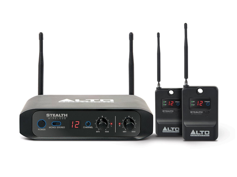 ALTO Professional Stealth Wireless - Sistema inalámbrico estéreo para altavoces amplificados con 1 transmisor y 2 receptores, 60 m: Amazon.es: Instrumentos ...
