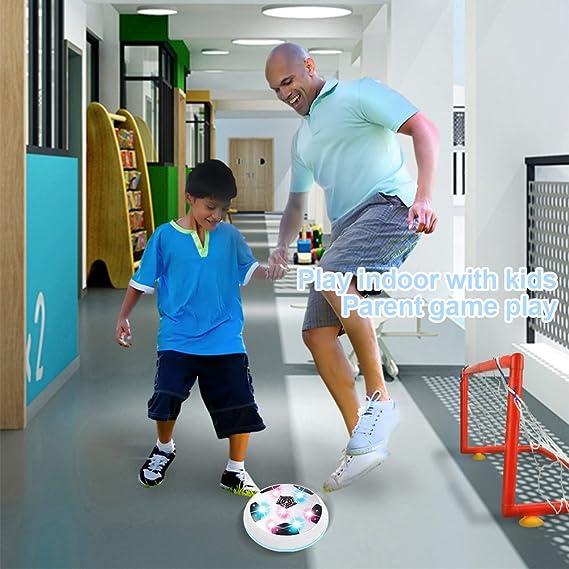 DMbaby Increíble conjunto de bola con forma de LED parpadeante con puertas - Los mejores regalos (blanco (con puertas)): Amazon.es: Deportes y aire libre
