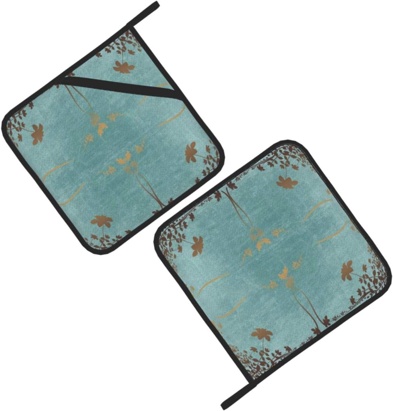 Wellay resistente al calore grigliare e cottura 7,1 x 20,3 cm Set di pentole con motivo floreale per cucinare