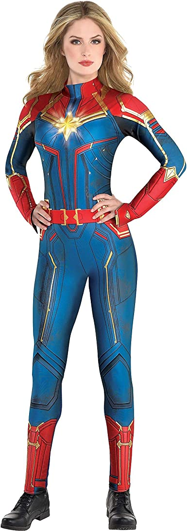 Amazon Com Costumes Usa Light Up Captain Marvel Halloween Costume For Women Includes Jumpsuit And Illuminated Crest Clothing The costume guide to all of captain marvel / carol danvers outfits, portrayed by brie larson, in captain marvel. costumes usa light up captain marvel halloween costume for women includes jumpsuit and illuminated crest