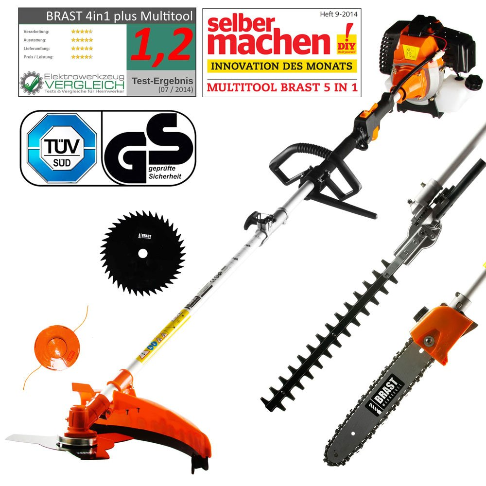 BRAST Benzin Multitool 3.0 PS 5 in1 Bild