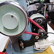 La Canilla ® - Correa elástica Universal para motor de máquina de coser Alfa, Singer, Sigma, Refrey (Roja): Amazon.es: Hogar