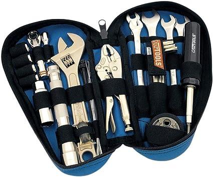 Estuche escolar herramientas CruzTOOLS Tool Kit Tear Drop Harley davidson-rttd1: Amazon.es: Coche y moto