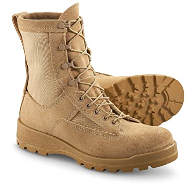 Amazon.com | USGI Military Gore-Tex Infantry Combat Boots ...