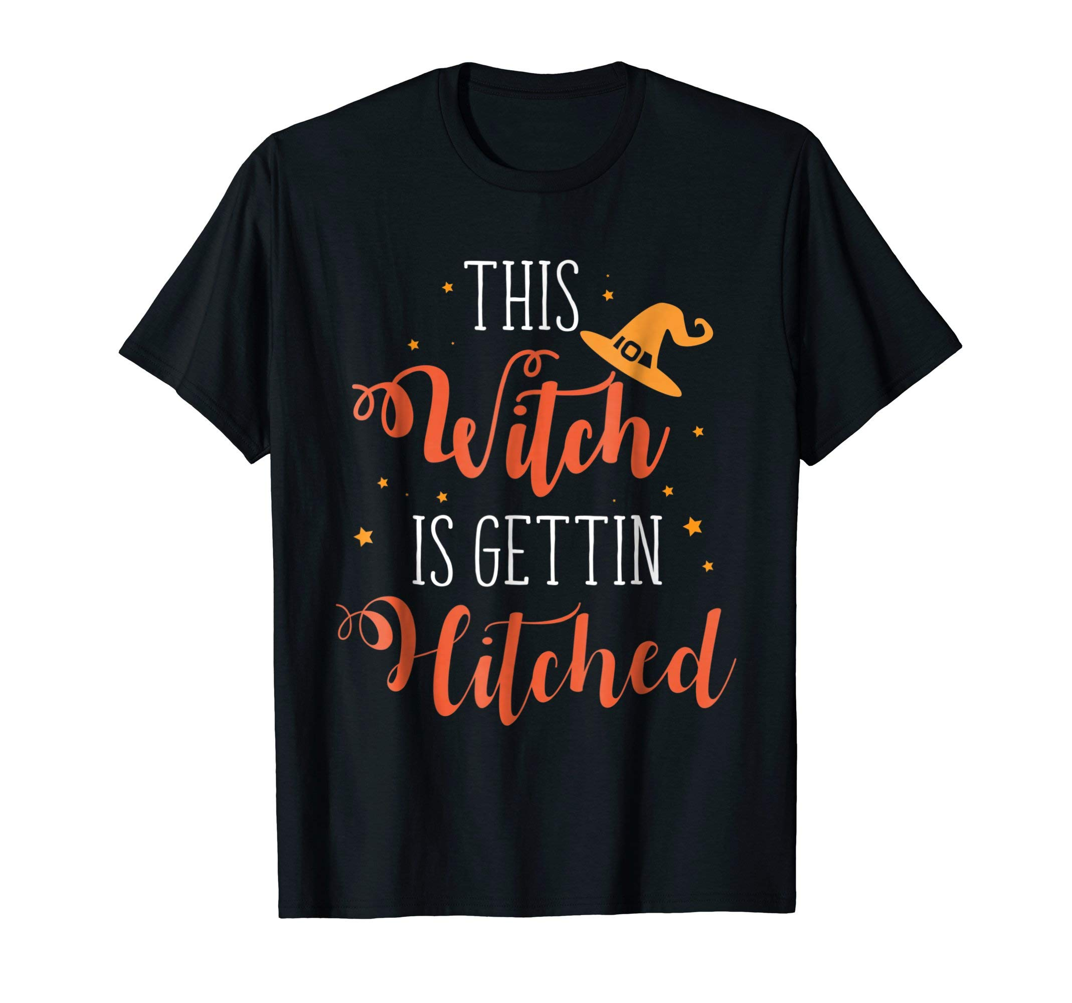 This Witch Is Getting Hitched-Halloween Wedding T-Shirt