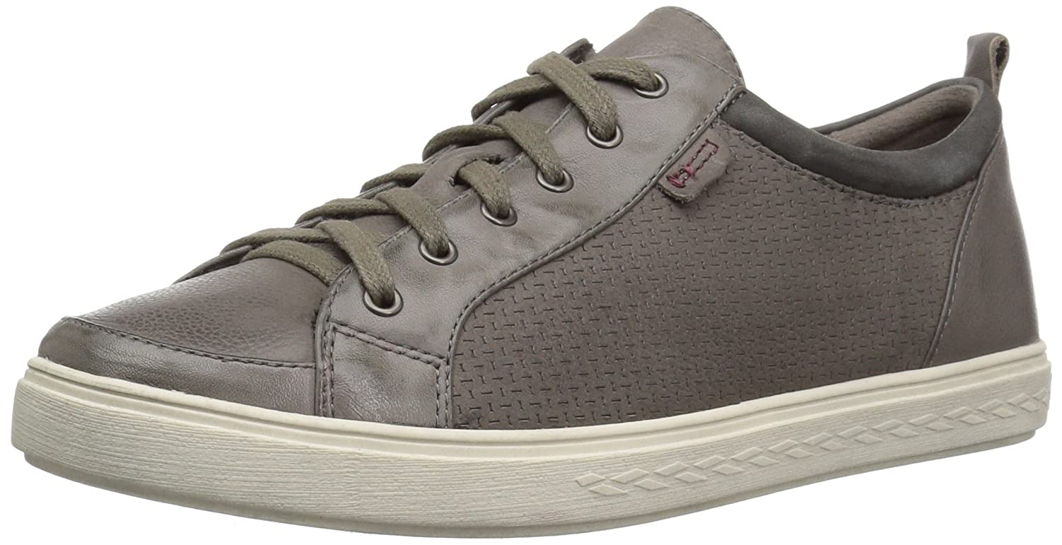 Cobb Hill Women's Willa Lace to Toe Sneaker B01N19VEP3 6 M US|Grey Leather