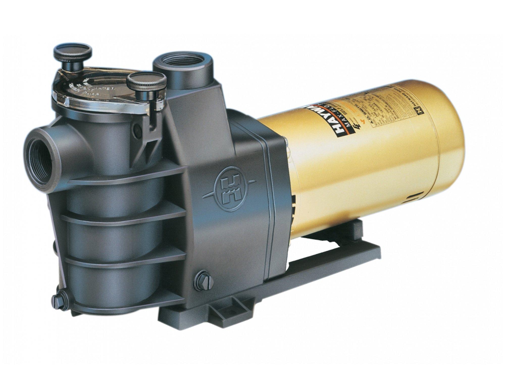 Hayward SP2805X7 3/4 HP Max-Flo Standard Efficient Single-Speed Medium Head In-Ground Pool and Spa Pump by Hayward