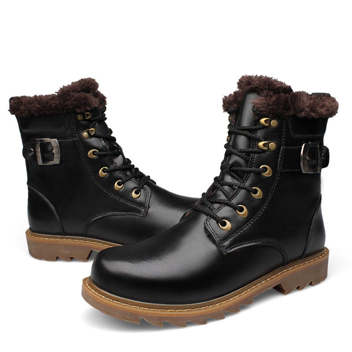 GTYMFH Herbst Und Winter Männer Europa Europa Europa Und Die Vereinigten Staaten Martin Stiefel Männer Werkzeug Lederstiefel  024061