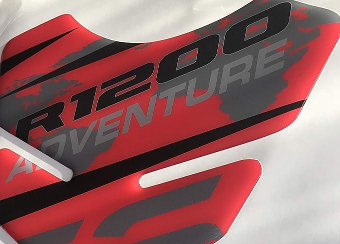 Tanque Karena Adventure Rojo De Resina r1200gs Tank Pad Moto