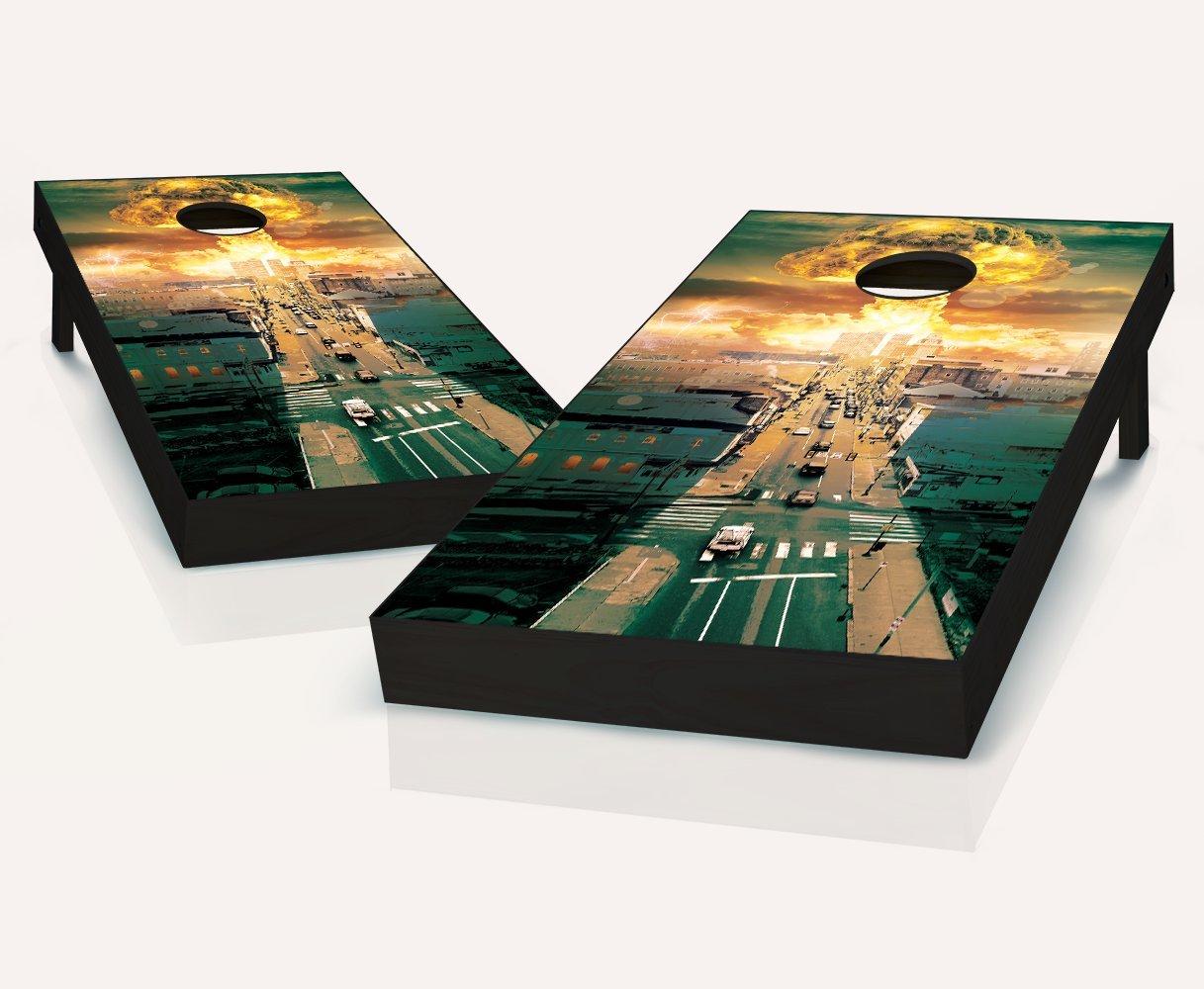 ゾンビApocalypse Cornhole Bags Boards withのセット8 withのセット8 Cornhole Bags ゾンビApocalypse B07C9CZ2GG, リコメン堂インテリア館:fad369eb --- webshop.mrf.se