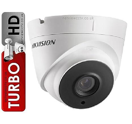 Hikvision 1080p Turbo HD Turret Dome Cámara con Lente de 3,6 mm