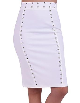 nouveaux styles c5b22 fb88d Miss Coquines - Jupe - Femme - Jupes: Amazon.fr: Vêtements ...
