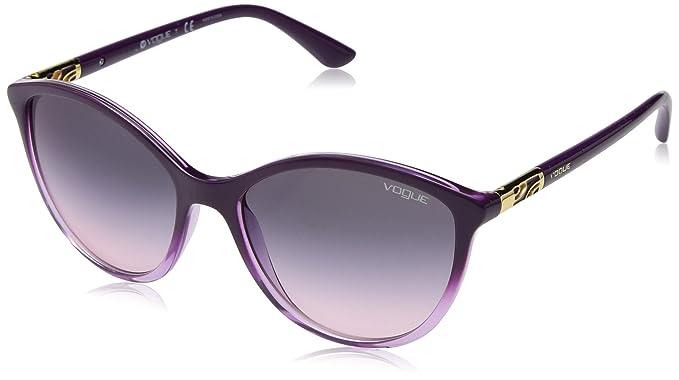 e2bfbbd2b74d4 Amazon.com  VOGUE Women s 0vo5165s Iridium Cateye Sunglasses ...