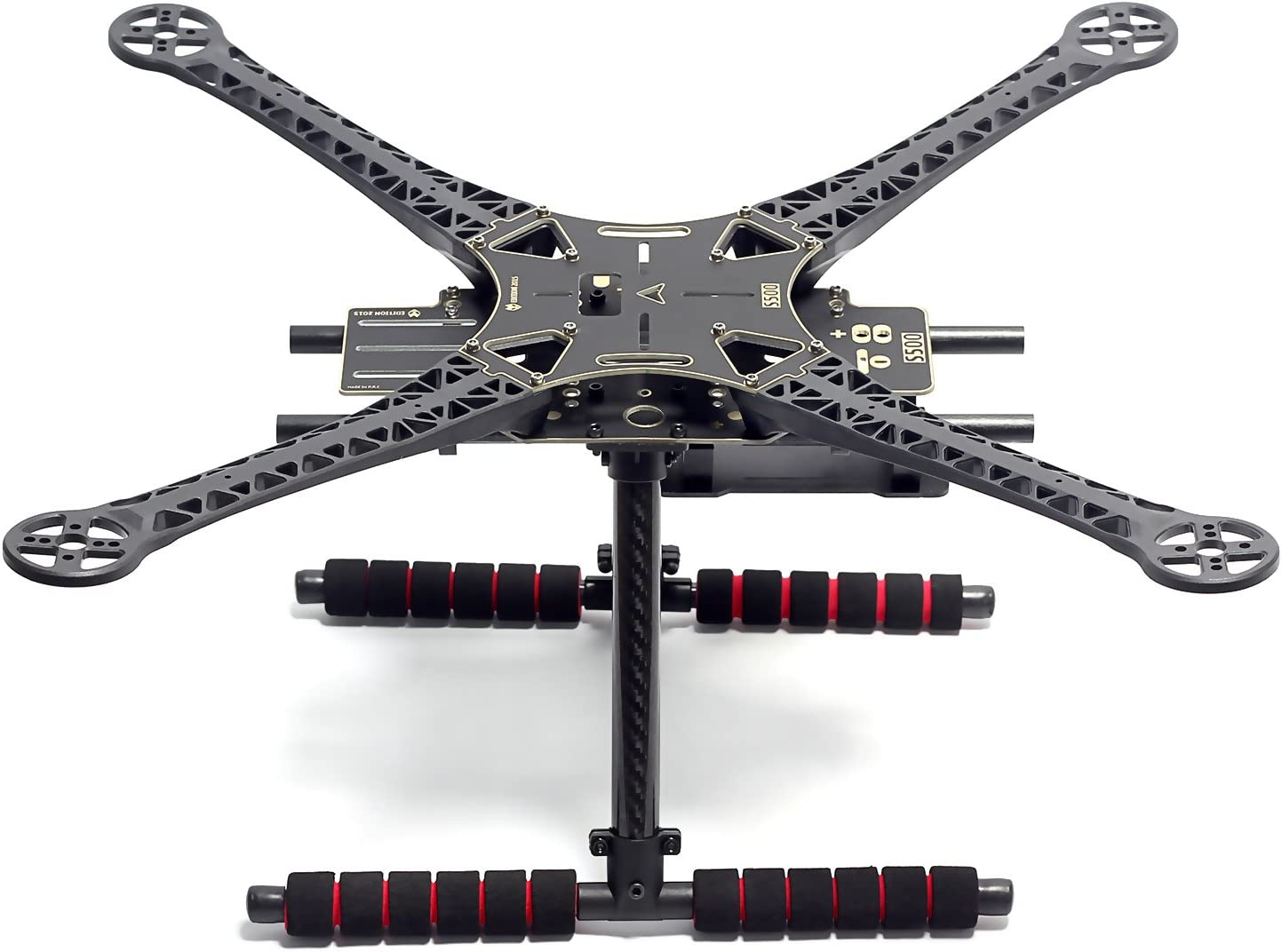 Readytosky S500 Quadcopter Frame Stretch X FPV Racing Drone Frame Kit PCB Version with Carbon Fiber Landing Gear