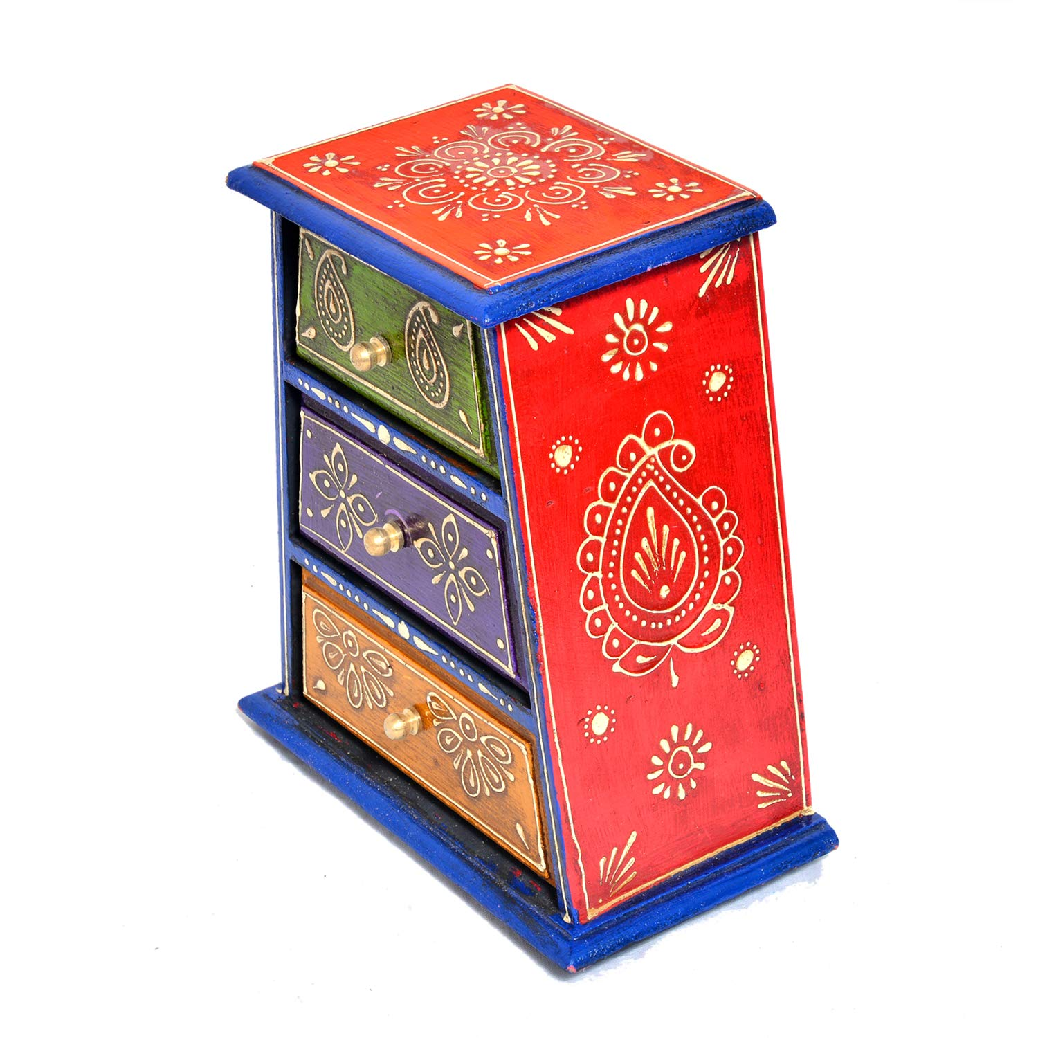 Eurasia Solid Wood Small Drawer Set, Includes 3 Drawers with Metal Label Holders by Eurasia (Image #4)