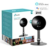 Kasa Smart Indoor Security Camera by TP-Link, Works with Alexa (Echo Spot, Echo Show and Fire TV), Google Home/Chromecast and IFTTT, 1080p HD, Night Vision with 2-Way Audio for Baby/Pet/Elder